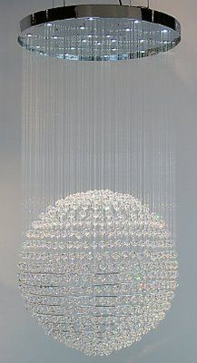 Swarovski ball chandelier | The House of Beccaria~