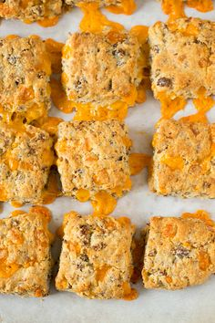 Sausage-Cheddar Biscuits via @Michelle (Brown Eyed Baker)