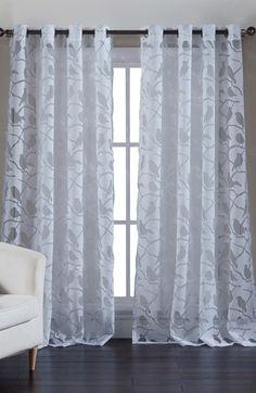 kensie 'Jaye' Sheer Window Panel available at #Nordstrom