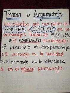 Conflict or Plot