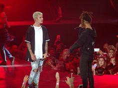 Justin Bieber feat. Jaden Smith -  Never Say Never LIVE AT MADISON SQUAR...