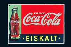 33. Reklameauktion- Emailschilder - Blechschilder -Beschreibungen Vintage Coca Cola, Kaffee Hag, Canning, Flashlight, Sheet Metal, Auction, Vintage Coke, Home Canning, Conservation
