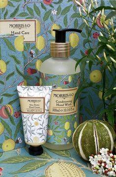 MORRIS & CO FRUITS A decorative duo of hand wash and hand lotion enriched with the finest ingredients combining essential oils of Bergamot, Mandarin and Lemon, keeping your hands in the best condition at all times.