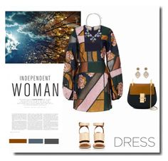 """Party On: Long Sleeve Dresses"" by kts-desilva ❤ liked on Polyvore featuring Roksanda, John Lewis, Givenchy, Chloé, Miguel Ases and longsleevedress"