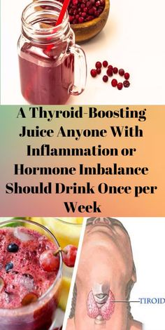 A Thyroid-Boosting Juice Anyone With Inflammation or Hormone Imbalance Should Drink Once Per Week - Weight Pub