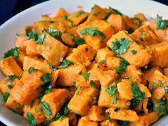 Sweet Potatoes with Lime-Cilantro Dressing Recipe on Yummly. @yummly #recipe