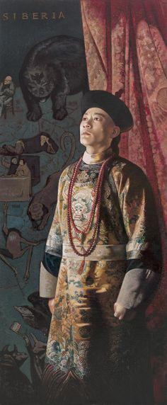 Jiang Guo Fang (b1951, Nanchang, Jiangxi Province, China)... Jiang was among the first batch of artists who received a formal art education in the late 1970's...