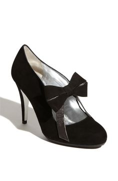 I can't put my finger on why I love these shoes, but they are very, very high on my list of wants!  $545 at Nordstrom