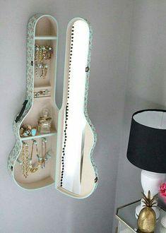 http://www.craftymorning.com/amazing-upcycled-guitars/