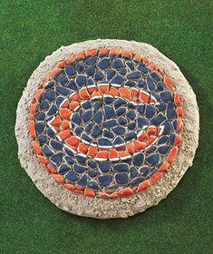NFL Mosaic Garden Stones