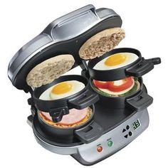 Hamilton Beach 25490A Dual Breakfast Sandwich Maker New | eBay