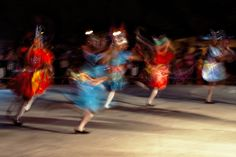 """Moving colors (and joy) 1 - Photo made during the """"Queima da Lapinha"""" festivities in Recife, Brazil."""