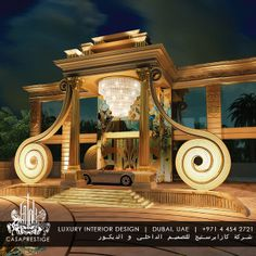 Luxury Home Interiors - High End Designers interni Classical Architecture, Architecture Plan, Beautiful Architecture, Wedding Backdrop Design, Hall Design, 3d Design, Bungalow House Design, Luxury Homes Interior, Facade House