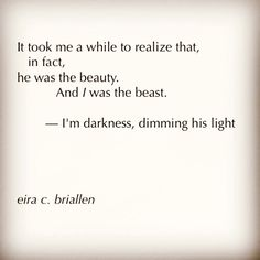 'I'm the Beast' by Eira