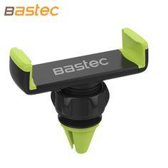Bastec Evrensel Araç Telefonu Tutucu Hava Firar Montaj Standı GPS Braketi 360 döndür ayarlanabilir tutucu iphone 7 6 s artı samsung s7 için