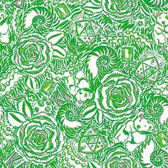 """Lilly Pulitzer """"Kappa Delta"""" print. Picture Yourself in Paradise at www.floridanest.com"""