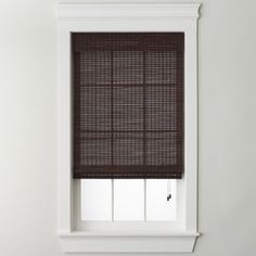 "<p>Our bamboo woven wood roman shade adds a soft, natural look to your windows.</p><div style=""page-break-after: always""><span style=""display: none"">"