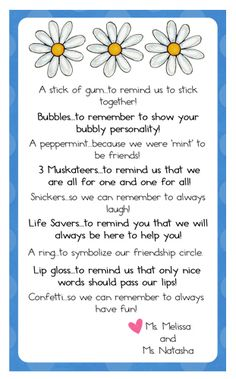 girl scout daisy poems | just b.CAUSE