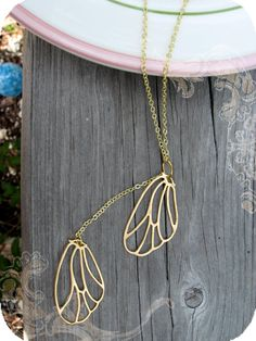 Butterfly Wing Necklace - $28.99
