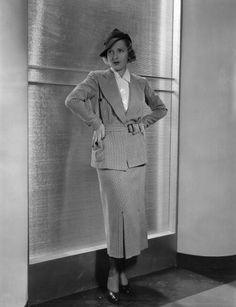 circa 1935: Jean Arthur