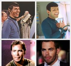 Spock and Kirk :)