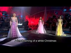 ▶ Celtic Woman - White Christmas (w/ Lyrics) - YouTube