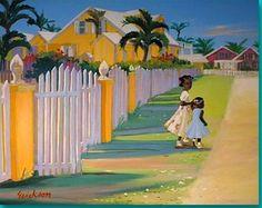 shari erickson art   Shari Erickson ~ Main Street   Art ~ Shari Erickson