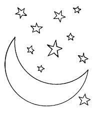 man in the moon clipart - Google Search