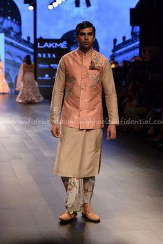 Lakme Fashion Week Winter Festive Day Four - High Heel Confidential Indian Groom Wear, Indian Wear, Indian Men Fashion, Mens Fashion, Lakme Fashion Week 2017, Kurta Men, Nehru Jackets, Sherwani, Groom Attire