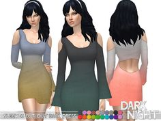 Sims 4 CC's - The Best: Dress by DarkNighTt
