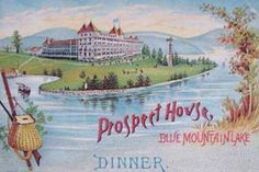 The Prospect House: The First Hotel With Electric Lights In Every Room. Check out this awesome historic landmark in the Adirondack Mountains for a unique and memorable experience! Details here.
