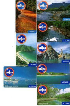"16 Phonecard / Tarjeta Telef Venezuela un1ca ""Paisajes de Venezuela"""