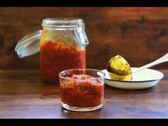 Sambal Paste With Lemongrass. You'll be surprised by how versatile this simple sambal paste is it can be turned into many mouth-watering dishes. Indian Food Recipes, Asian Recipes, Healthy Recipes, Sambal Recipe, My Favorite Food, Favorite Recipes, A Food, Good Food, Malaysian Food