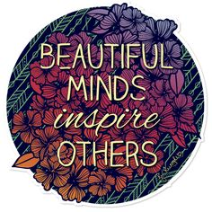 Adesivo Beautiful Minds de @jurumple | Colab55