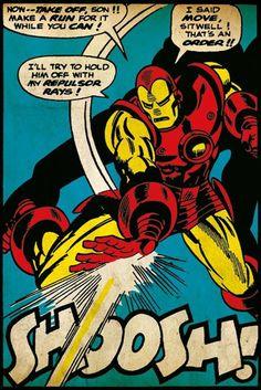 Iron Man - Shoosh - Official Poster