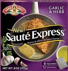 $1 Land O Lakes Saute Express Printable Coupon on http://www.couponingfor4.net