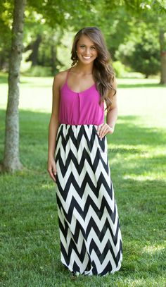 The Pink Lily Boutique - Give It Your All Magenta Maxi, $40.00 (http://thepinklilyboutique.com/give-it-your-all-magenta-maxi/)