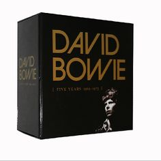 35.00$  Buy here - http://ai09j.worlditems.win/all/product.php?id=32758766847 - David Bowie Five Years1969--1973 12CD China Factroy New Sealed