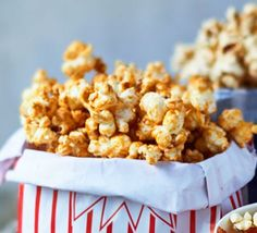 Brown sugar & cinnamon glazed popcorn 2016