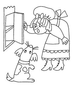 mother goose coloring pages print out right click