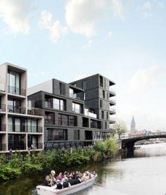 apartments JOREMAAIE   gent - Projects - CAAN Architecten / Gent