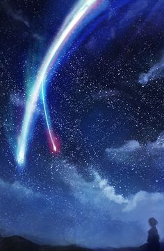 Kimi no na wa (Your Name) is one of the greatest movies I've seen since Wolf Children.  Truly a work of art.  Not flawless, but so thoroughly enjoyable and gripping (that twist WOW) that you can't help but overlook the minor flaws.  When I get goosebumps multiple times through the movie that's usually a good sign it's a great one.