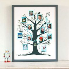 Un arbre généalogique pour les enfants