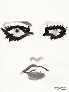 miyuki ohashi drawing etcetra — Lara »instagram