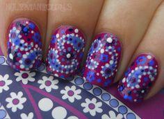 paisley nails!