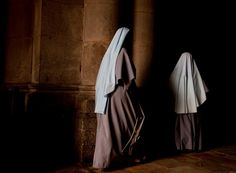 Nuns. I am just completely fascinated by nuns.