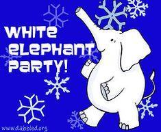 how to throw white elephant/dirty santa party