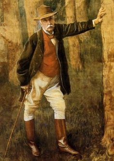 Tissot, James (1836-1902) - 1898 Self Portrait by RasMarley, via Flickr