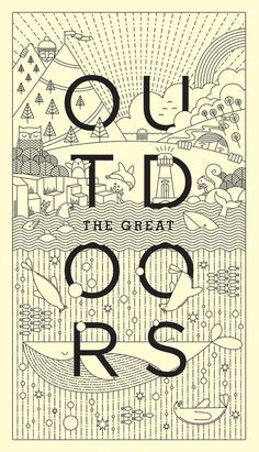 The Great Outdoors #prints #posters