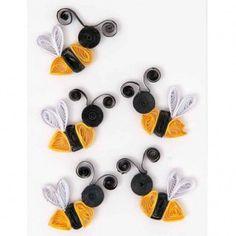 Quilling Sticker Bienen